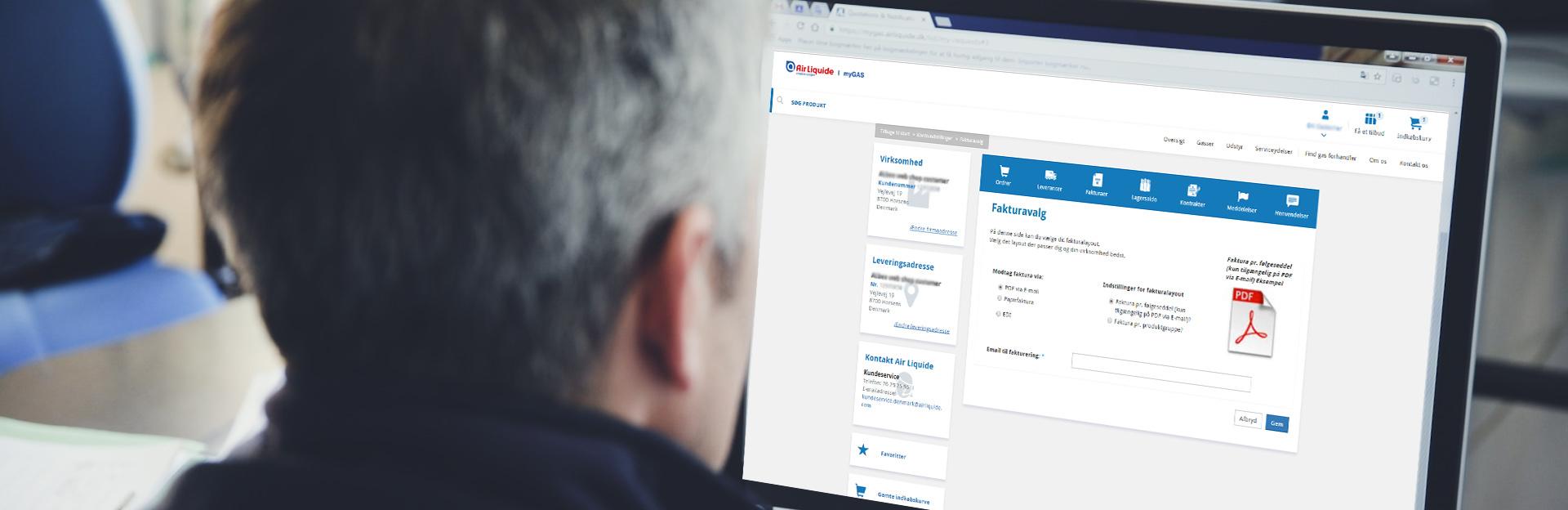 Sähköpostilaskutus |myGAS | Air Liquide