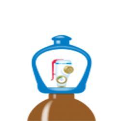 alphagaz™ 1 helium pullo smartop l50